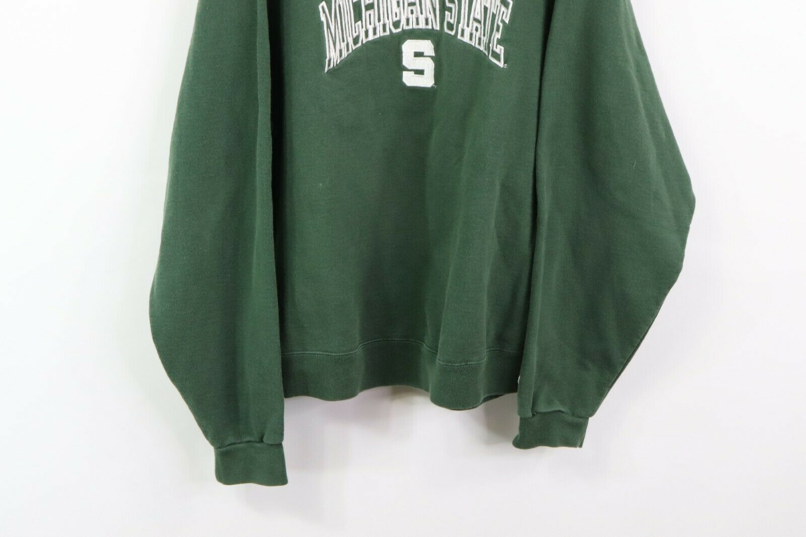 Vintage 90s Champion Mens Large Michigan State University Spell Out Sweatshirt image 3