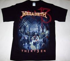MEGADETH zombie group 13 thirteen official T shirt MEDIUM - $19.50