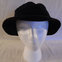Hat Dorfman Pacific Unisex Black Bucket Style - $19.95
