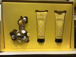 Marc Jacobs Honey Perfume 3.4 Oz Eau De Parfum Spray 3 Pcs Gift Set image 5