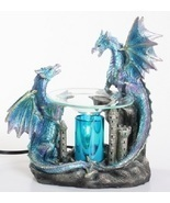 Blue Dragon Oil/Tart Warmer - compatible with Scentsy and Yankee Candle wax - £24.97 GBP