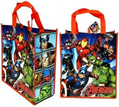 Marvel AVENGERS Large Reusable 15.5 x 13.5 x 6.75 inches Tote Shopping B... - $12.86