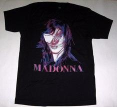 MADONNA MDNA black graphic photo official T shirt Men LARGE - $20.15