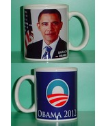 Barack Obama Democrat 2 Photo Collectible Mug 03 - $14.95