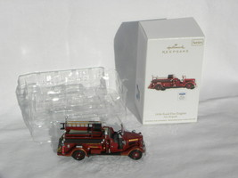 "2012 Hallmark Fire Brigade Series ""1936 Ford Fire Engine"" Christmas Orna... - $14.99"
