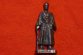 Kinder Egg Surprise Toy Scame Metal Figure Samurai 1 1992 from Poland - $9.81