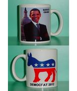 Barack Obama Democrat 2 Photo Collectible Mug 04 - $14.95