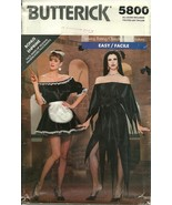 Butterick Sewing Pattern 5800 Vampira French Ma... - $9.98