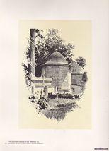 Kitchen Garden at Mt. Vernon Va Print O.R. Eggers 1922 - $15.99