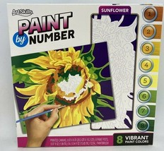 ArtSkills Paint by Number Sunflower Picture Kit NEW IN BOX - $8.90