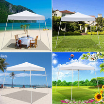 Ktaxon 10' x 10' Pop up Canopy Portable Folding Tent W Carry Bag (White)... - $94.99