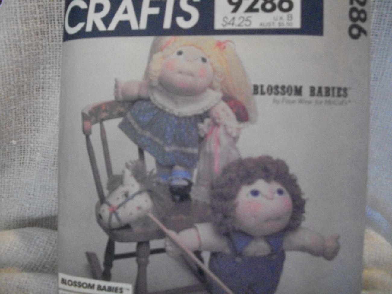 Primary image for  Blossom Babies Doll Pattern McCall's 9286