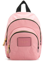 Marc Jacobs Mini Double Zip Nylon Backpack Rose Pink M0013608 MSRP $175 - ₨8,311.44 INR