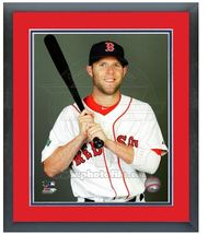"11""x14"" Framed & Matted Dustin Pedroia Red Sox - Studio Photo Pluses   - $43.95"