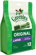 Greenies™ Original Dog Dental Treats - Large - 18oz  - $19.25