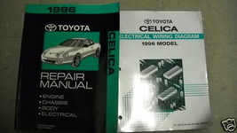 1996 TOYOTA CELICA Service Repair Workshop Shop Manual Set OEM W EWD - $59.35