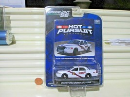 Greenlight Se Ser 2 Hot Pursuit 2008 Dodge Charger N. Dakota State Police Car Nu - $34.60