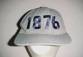 Budweiser Anheuser Busch Since 1876 Adult Unisex Gray Blue Red Cap One S... - $24.74