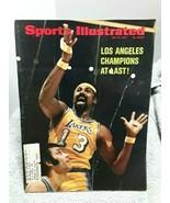Sports Illustrated May 15 1972 Wilt Chamberlain Lakers Champions FAIR GOOD - $4.94