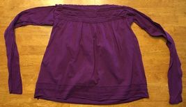 Arizona Girl's Purple Halter Top Shirt / Blouse Size: Medium image 10