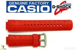 CASIO G-300C-4AV G-SHOCK Original 16mm Orange Rubber Watch Band Strap   - $24.60