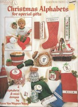 Leisure Arts #260  - Christmas Alphabets for Special Gifts  - $7.43