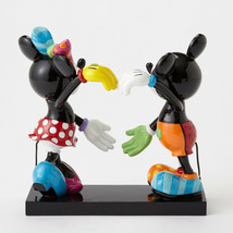 """7"""" High Disney Britto Mickey and Minnie Mouse Figurine image 2"""