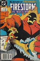 (CB-12} 1988 DC Comic Book: Firestorm The Nuclear Man #76 - $2.00