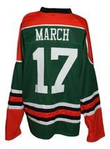 Custom Name # Ireland Irish Pride March 17 Hockey Jersey New Green Any Size image 2