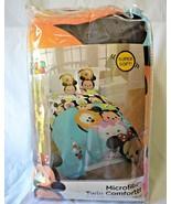 "Disney Tsum Tsum Twin Comforter Microfiber Soft Reversible Mickey 64""x86... - $35.99"