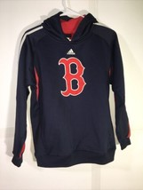 Boston Red Sox MLB Adidas Kids Youth Size Hooded Sweatshirt Large - $22.99