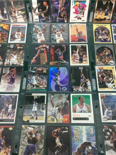 Vintage Lot 108 Karl Malone NBA Basketball Trading Card