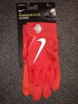 Nike Huarache Elite Baseball Batting Gloves Size XL PGB642 663 Red White NWT - $49.99