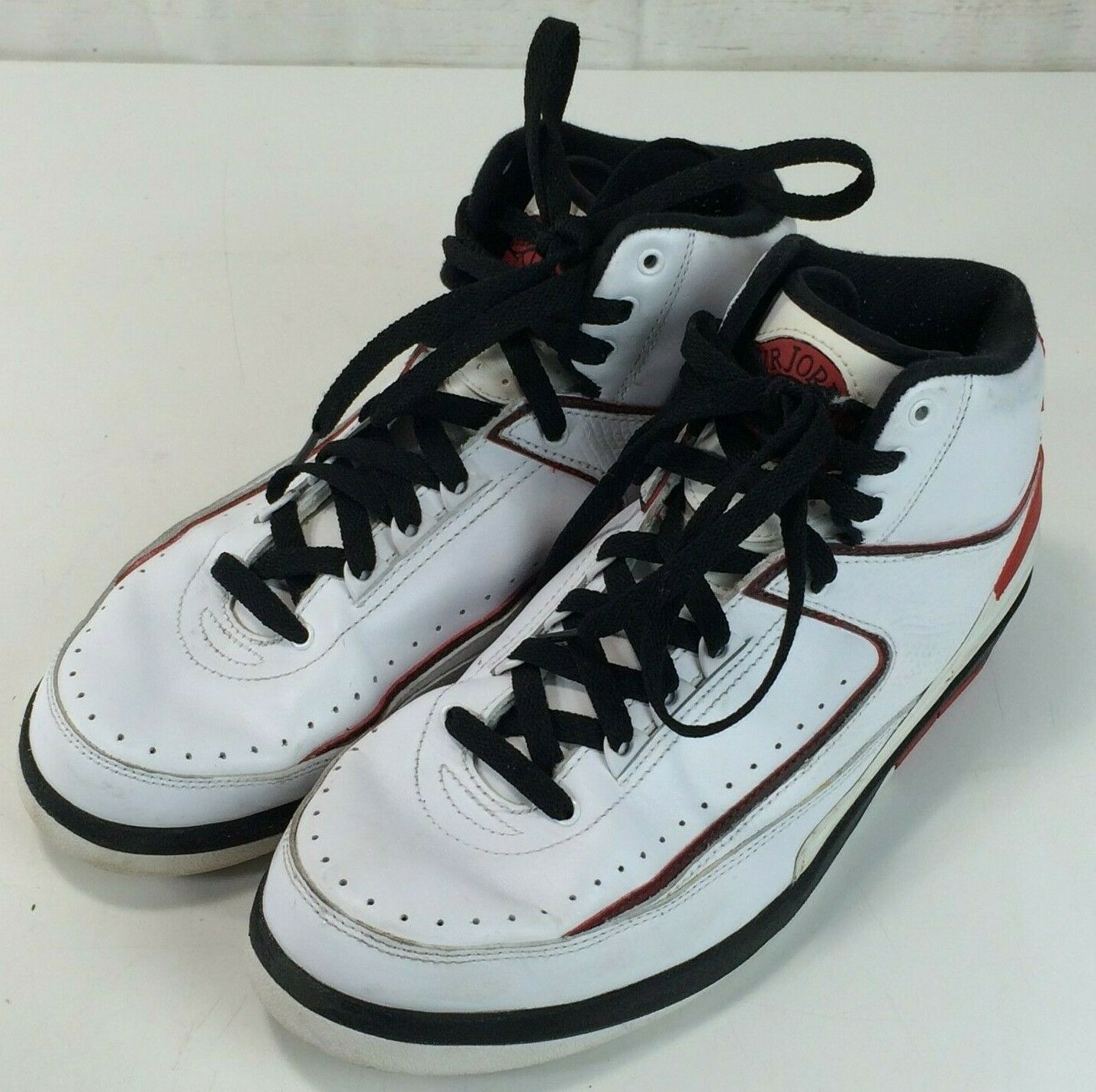 huge discount 349ce cac0b Nike Air Jordan 2 II Retro QF Chicago 2009 Men s Size 8.5 395709-101 -   98.99