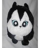 Six Flags Looney Tunes Pussyfoot Cat Plush Stuffed Animal Round Dog's Ki... - $34.63