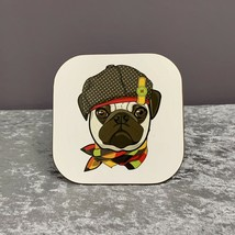Pug Coaster,Gifts For Dog Lovers,Mothers Day Gifts,Pug,Dog,Gifts - $6.80