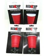 ( LOT OF 4) Red Cup Living Bicycle Squeaker Horns Brand New - $19.30