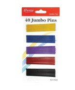 Annie Jumbo Pins 2 3/4'' 40 Count Assorted Color - $3.71