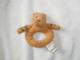 Classic Winnie the Pooh Stuffed Plush Tigger Tiger Ring Rattle Circle Ba... - $16.82