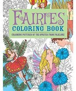 Fairies Coloring Book: Charming Pictures of the Sprites from Folklore (C... - $8.16 CAD