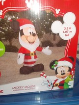 Disney Mickey Mouse as Santa Airblown Inflatable 3.5 ft. - $39.99