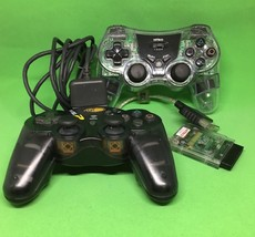 Nyko Wireless Mad Catz dual force 2 controllers Playstation Receiver Don... - $16.83