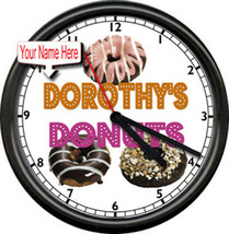 Donut Shop Personalized Your  Name Bakery  Chef  Coffee Shop Sign Wall C... - £15.09 GBP