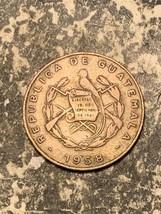 1958 Guatemala 1 Centavo Lot#Q8843 Km#259 - $4.00