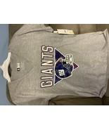 NFL New York Giants Women's Heather Short Sleeve V-Neck T-Shirt - M - $13.00