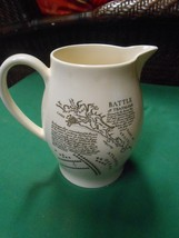 WEDGWOOD Pitcher-Made for American Heritage ADMIRAL LORD NELSON image 2