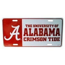 Alabama Crimson Tide Color Block License Plate - $10.44
