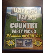 Various Artists, Par - Party Tyme Karaoke: Country Party Pack CD - $5.93
