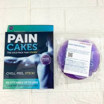 PAINCAKES Cold Pack That Sticks Stays in Place Reusable Ice Therapy Purp... - $14.20