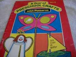 A Year of Preschool Crafts with Patterns No. 2 & Stencil - $7.00